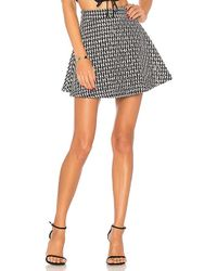 X By NBD - Check It Out Skirt In Black - Lyst