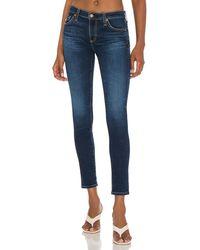 AG Jeans - LEGGING Ankle スキニーデニム - Lyst