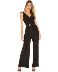 Cupcakes And Cashmere Ibiza Jumpsuit - Black