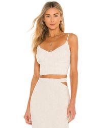 Bardot Corsé corset - Blanco