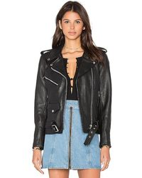 Urban Outfitters X Revolve Easy Rider Moto Jacket - Black