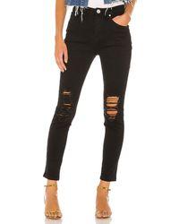 superdown Suza Distressed Jeans. Size 28. - Schwarz