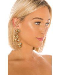 Jennifer Behr Adella Chandelier Earrings - Metallic