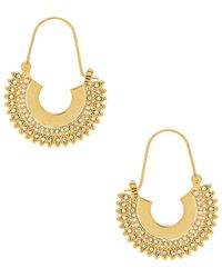 Luv Aj - The Cosmic Flare U Hoops - Lyst