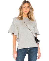 Goen.J | Short Sleeve Jersey Top | Lyst