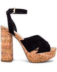 superdown Обувь На Каблуке Sarah В Цвете Черный - Black. Размер 8.5 (также В 10).