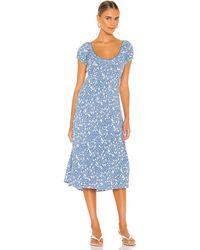 Astr Caprice ドレス - ブルー