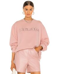 Nanushka Remy Sweatshirt - Pink
