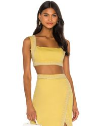 Song of Style Bertha Top - Yellow