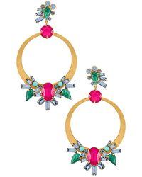 Elizabeth Cole Mariah Earrings - Multicolor