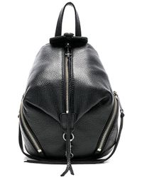Rebecca Minkoff - Convertible Mini Julian Backpack In Black. - Lyst