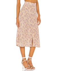 Faithfull The Brand Marin Skirt - Braun