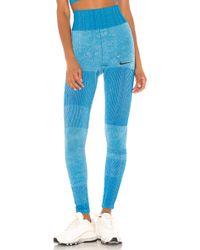 Nike Leggings - Bleu