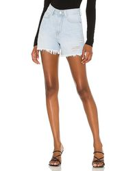Dr. Denim Nora Shorts In Blue. Size 25, 26, 27, 28, 29, 30, 32.