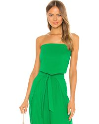 Flynn Skye Banx Crop Top - Green