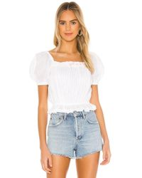 Tularosa Trudy Top - White