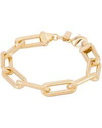 Joolz by Martha Calvo Box Link Bracelet - Metallic