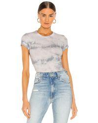 Enza Costa - Tシャツ In Blue. Size S, M. - Lyst
