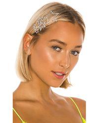 Amber Sceats Star Hair Clip Set - Metallic