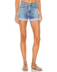 AG Jeans Hailey デニムショートパンツ. Size 31. - ブルー