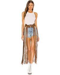Urban Outfitters X REVOLVE On The Road Again Fringe Belt - Mehrfarbig
