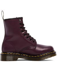 Dr. Martens Iconic 8 Eye Boot - Lila