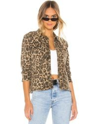 Pam & Gela Leopard Army Shacket - Multicolor