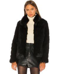 Unreal Fur Fur Delish フェイクファー - ブラック