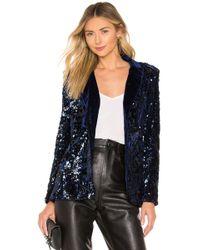 Alexis - Sequin Embellished Blazer - Lyst