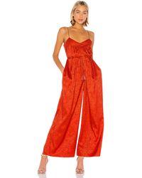 Saylor Elizabella jumpsuit - Rojo