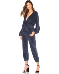 Young Fabulous & Broke Foiley Velour Jumpsuit