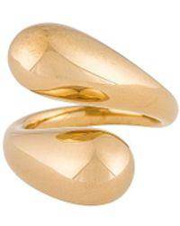 Soko Twisted Dash Ring - Metallic