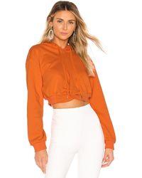 superdown Candice クロップパーカー - オレンジ