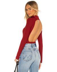Alix NYC Libby Bodysuit - Rot