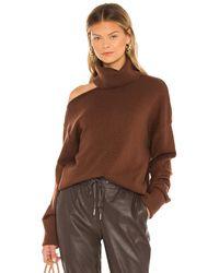 PAIGE Raundi セーター - ブラウン