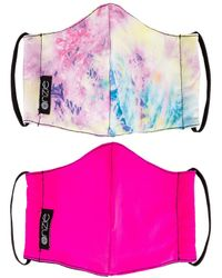 Onzie 2 Pack Protective Face Masks - Pink