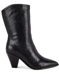 PAIGE Landyn Mid Calf Boot - Black