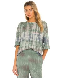 House of Harlow 1960 Tie Dye オーバーサイズtシャツ. Size M, L. - グリーン