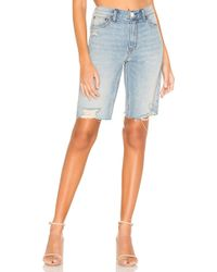 Free People Caroline cut off shorts - Azul
