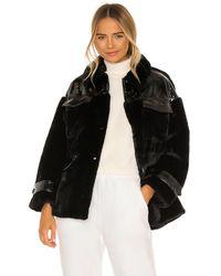 Apparis Куртка Из Искусственного Меха Lucile В Цвете Noir - Черный