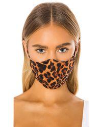 GRLFRND Маска Для Лица Protective В Цвете Леопард - Многоцветный