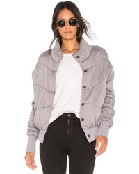 Young Fabulous & Broke - Puffer Jacket - Lyst