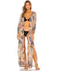 Luli Fama Kimono - Mehrfarbig