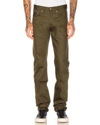 Naked & Famous - Weird Guy Selvedge Chino 12oz. - Lyst