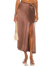 LPA Hanson Skirt - Brown