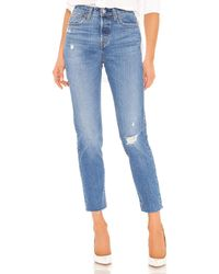 Levi's - Wedgie Icon Fit テーパードレッグ. Size 24,25,26,27,28,29,30,31,32. - Lyst