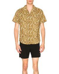 Rhythm - Santiago Shirt In Brown - Lyst