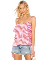 MDS Stripes - Tiered Cami - Lyst