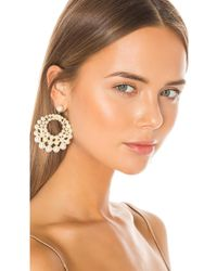 Jennifer Behr Prianna Earrings - White