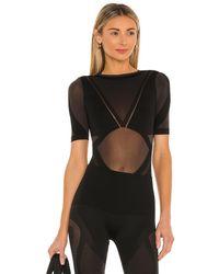 Wolford - X Adidas Sheer Motion Bodysuit - Lyst
